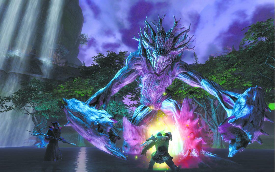 RIFT games fantasy warrior battle monster      g wallpaper