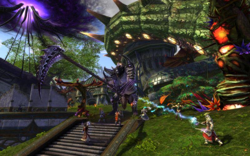 RIFT games fantasy warrior battle monster y wallpaper