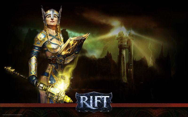 RIFT games fantasy warrior sword girl y wallpaper