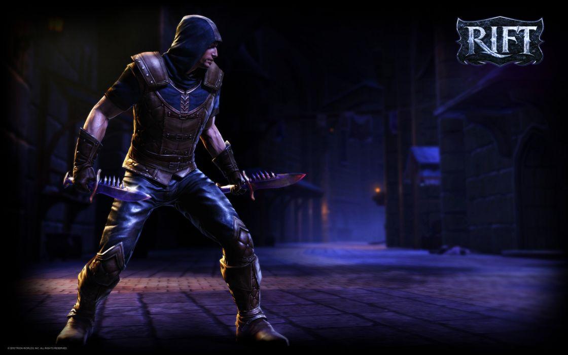 RIFT games fantasy warrior weapon wallpaper