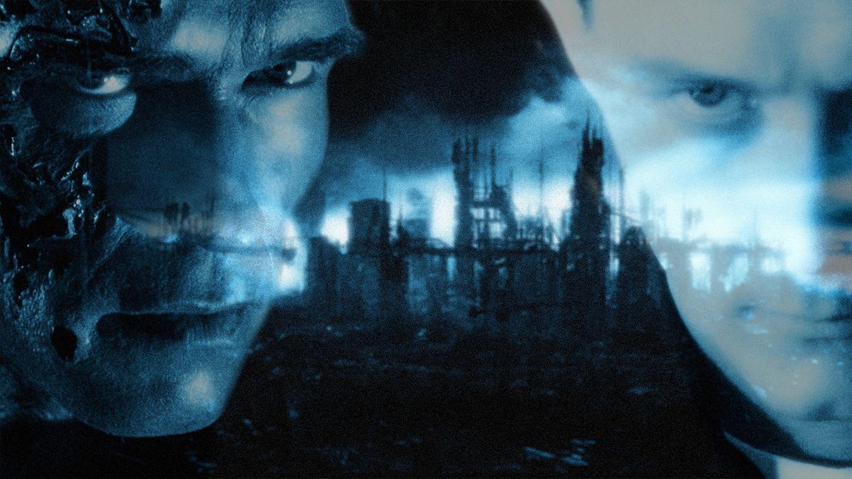 TERMINATOR action sci-fi thriller robot cyborg warrior  g wallpaper