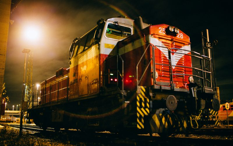 Train Night wallpaper