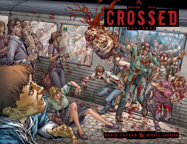 CROSSED avatar-press horror dark comics blood f wallpaper