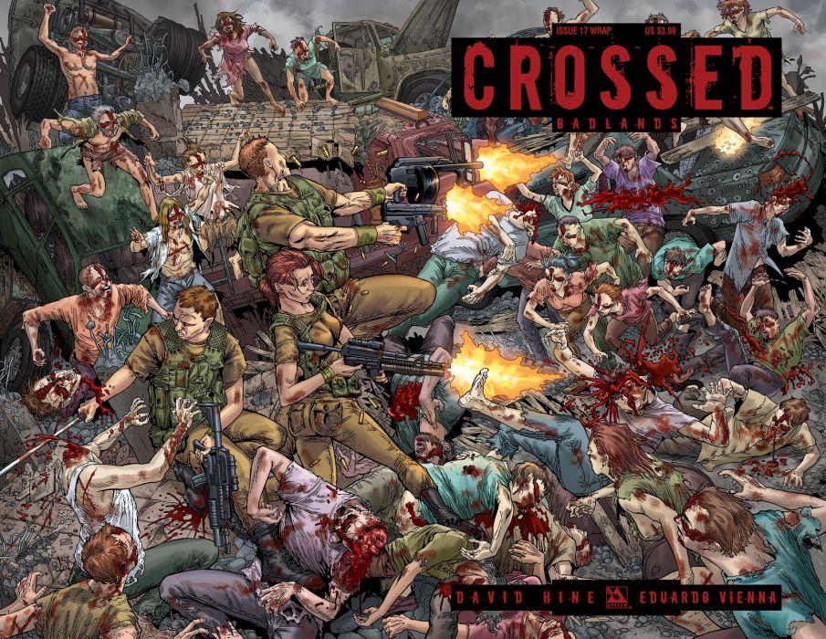 CROSSED avatar-press horror dark comics blood zombie      s wallpaper