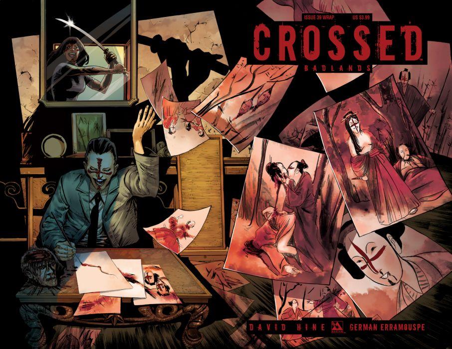 CROSSED avatar-press horror dark comics blood zombie  dg wallpaper