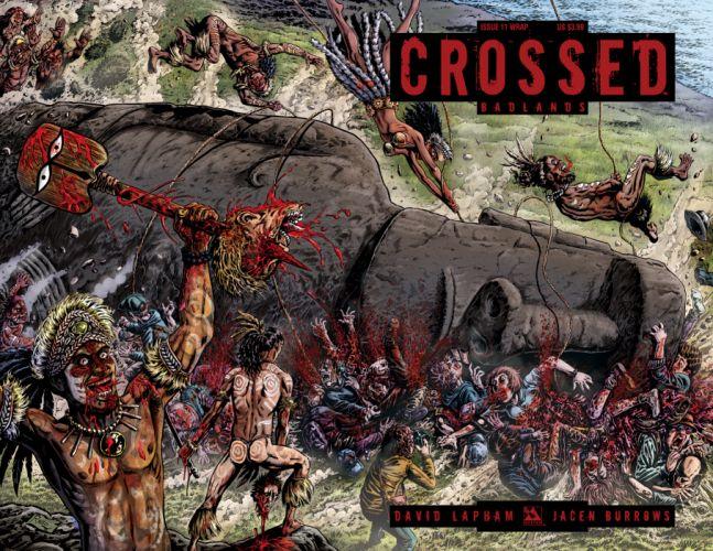 CROSSED avatar-press horror dark comics blood zombie sf wallpaper