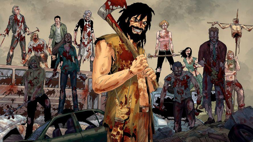 CROSSED avatar-press horror dark comics blood zombie fs wallpaper