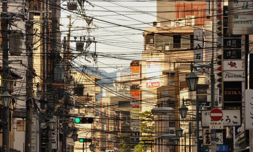 cty lines bokeh traffic wallpaper