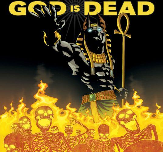 GOD IS DEAD avatar-press fantasy comics dark skull y3 wallpaper