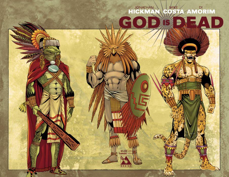 GOD IS DEAD avatar-press fantasy comics warrior        f wallpaper