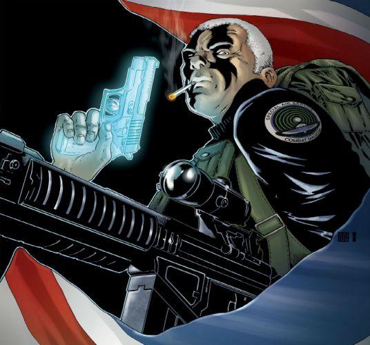 GRAVEL avatar-press comics warrior weapon gun g wallpaper