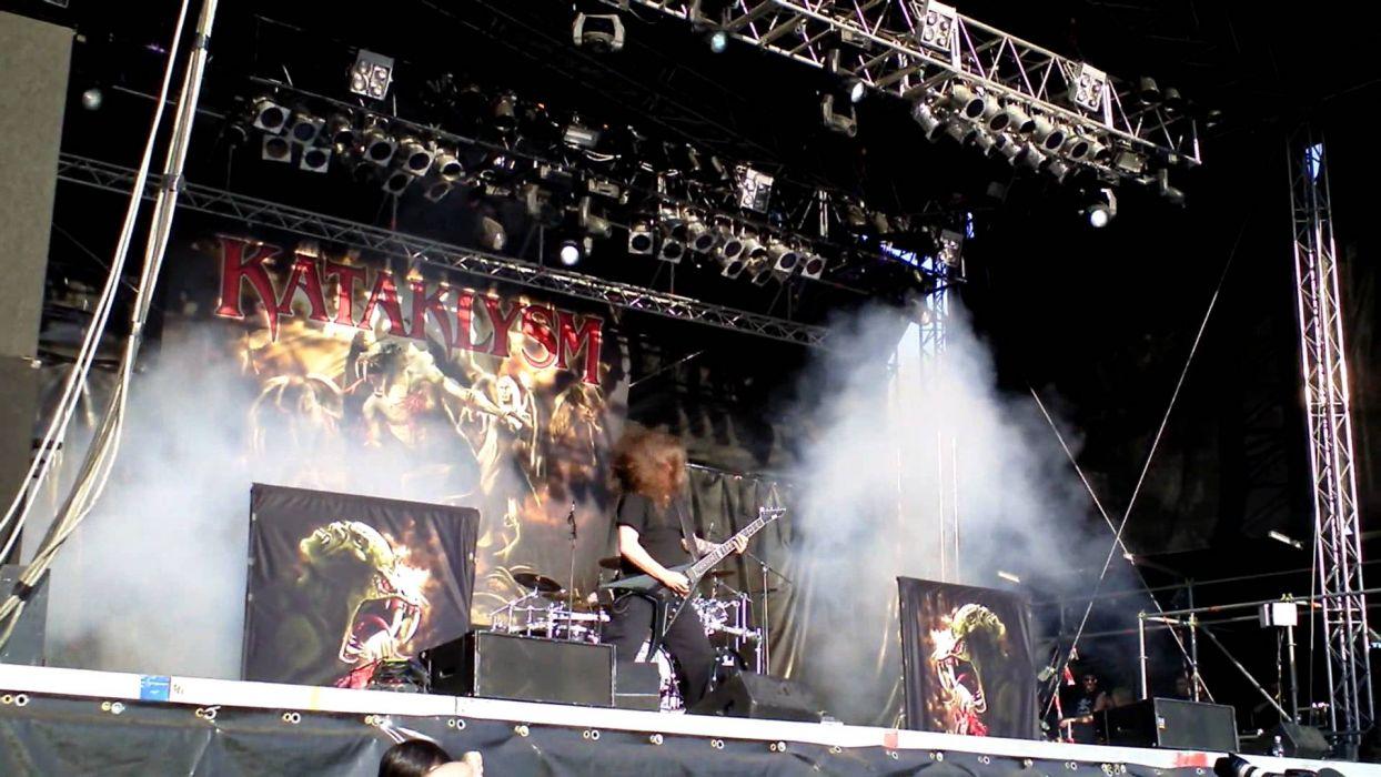 KATAKLYSM death metal heavy concert guitar  r wallpaper