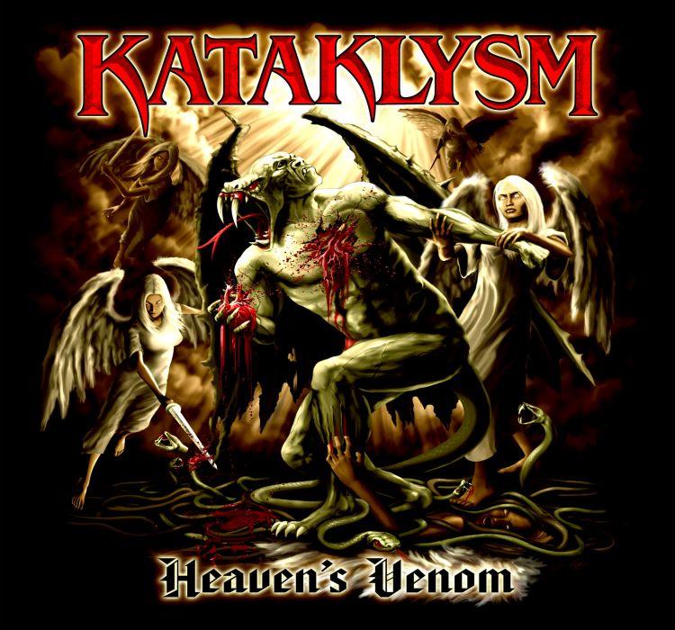 KATAKLYSM death metal heavy dark poster   t wallpaper