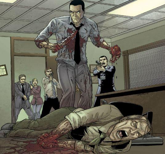 NEONOMICAN avatar-press horror comics dark blood r wallpaper