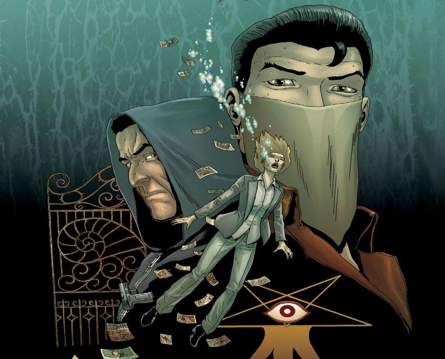 NEONOMICAN avatar-press horror comics wallpaper