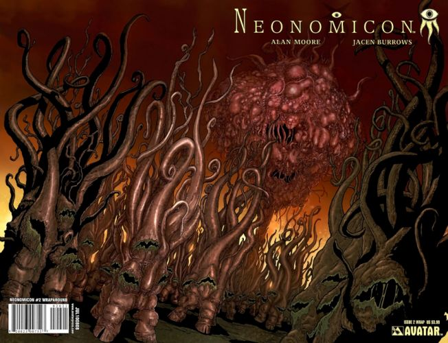 NEONOMICAN avatar-press horror comics dark monster f wallpaper