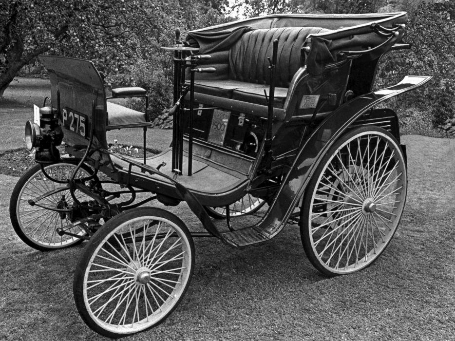1900 Benz 3-25 PS Vis-a-vis retro p-s wheel      f wallpaper