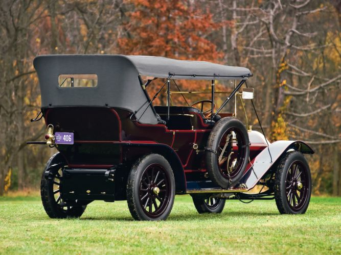 1910 Pierce Arrow Model-48 Touring retro g wallpaper