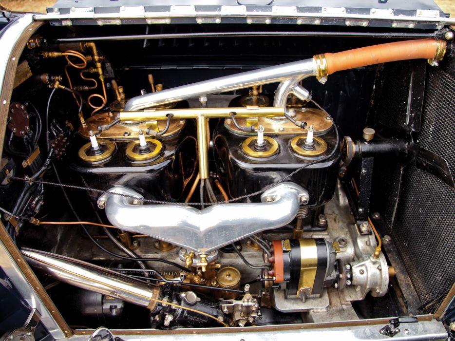 1916 Stutz Model-C Bulldog retro engine    g wallpaper
