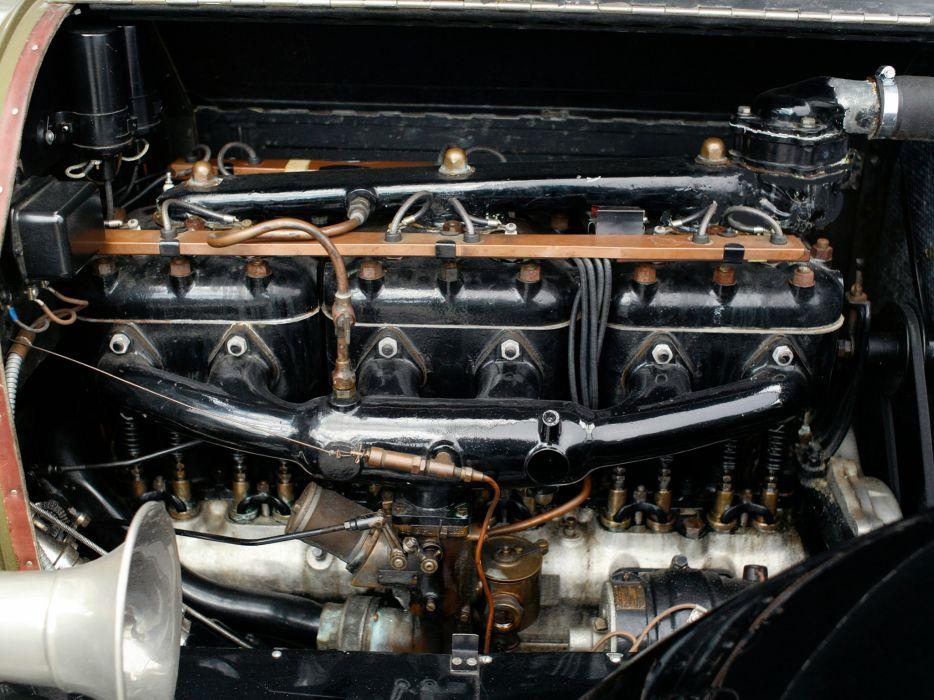 1919 Pierce Arrow Model-31 7-passenger Tourer retro engine  f wallpaper