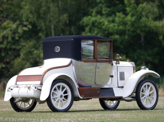 1921 Benz 8-20 PS Doctors Cabriolet Forton Bettens retro f wallpaper