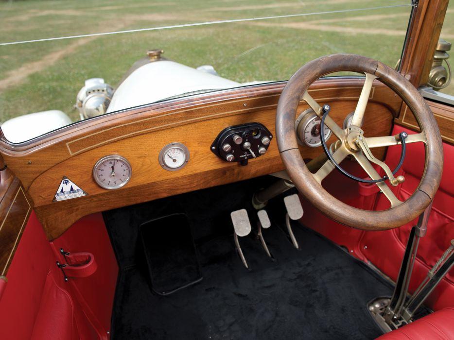 1921 Benz 8-20 PS Doctors Cabriolet Forton Bettens retro interior    g wallpaper