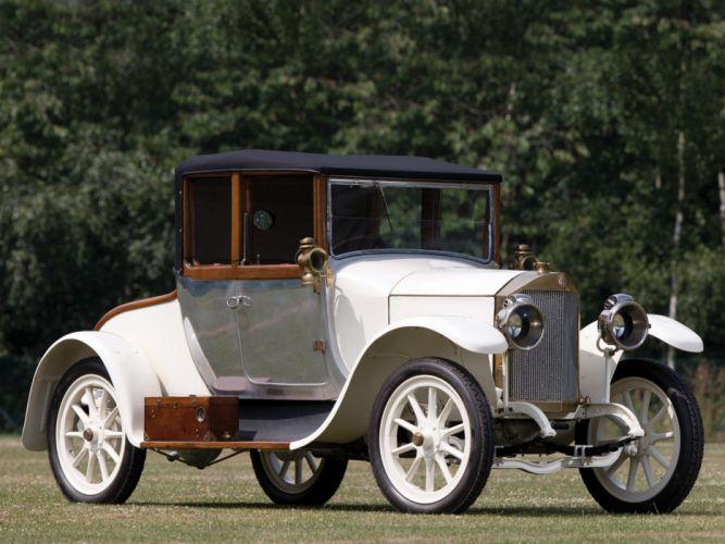 1921 Benz 8-20 PS Doctors Cabriolet Forton Bettens retro wallpaper