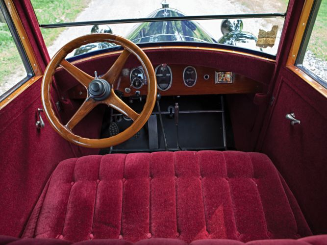 1926 Pierce Arrow Mode- 80 5-passenger Sedan retro luxury interior f wallpaper