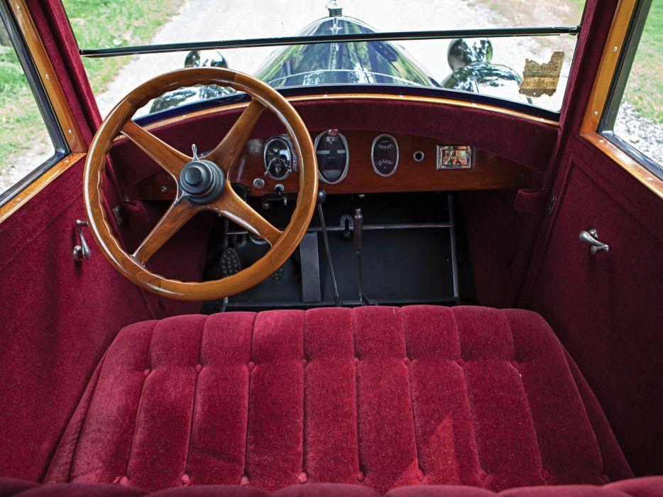 1926 Pierce Arrow Mode- 80 5-passenger Sedan retro luxury interior     f wallpaper