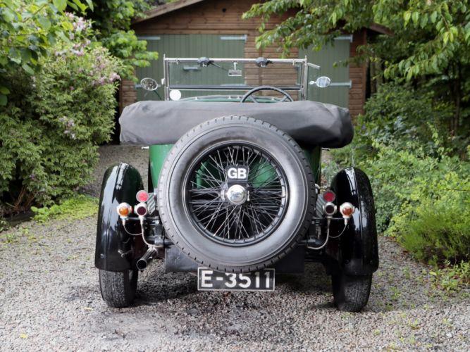 1926 Sunbeam 3-Litre Super Sports Twin Cam Tourer retro g wallpaper