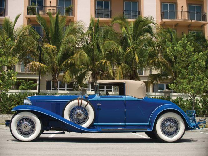 1929 Cord L-29 Convertible retro luxury d wallpaper