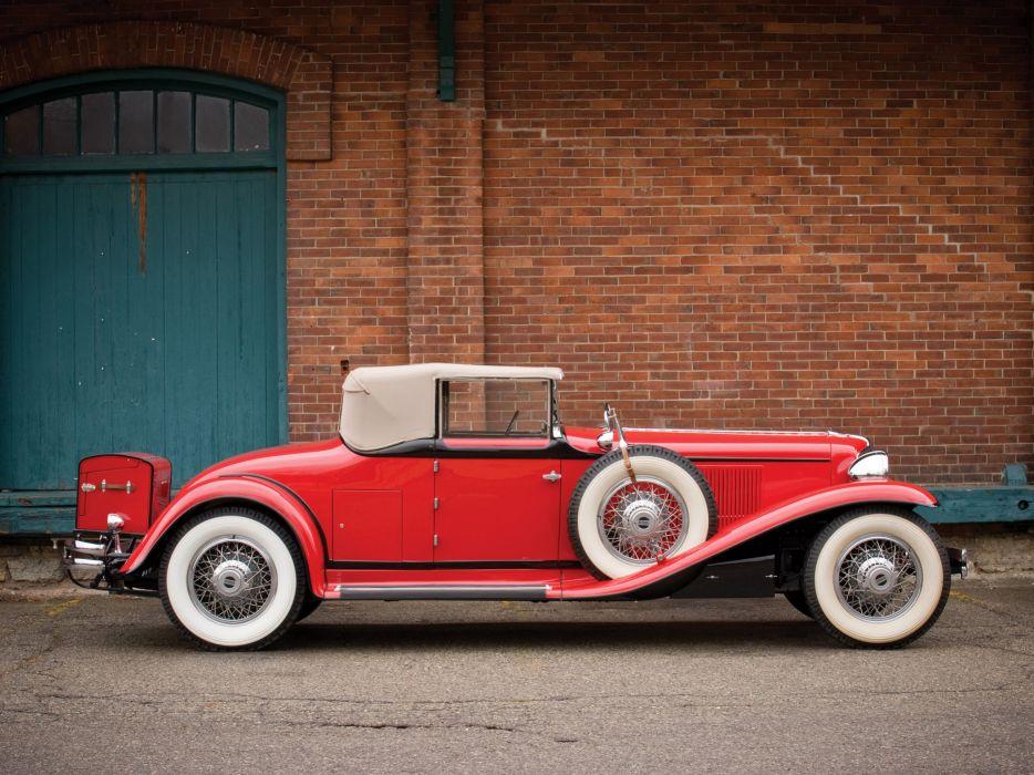 1929 Cord L-29 Convertible retro luxury  a wallpaper