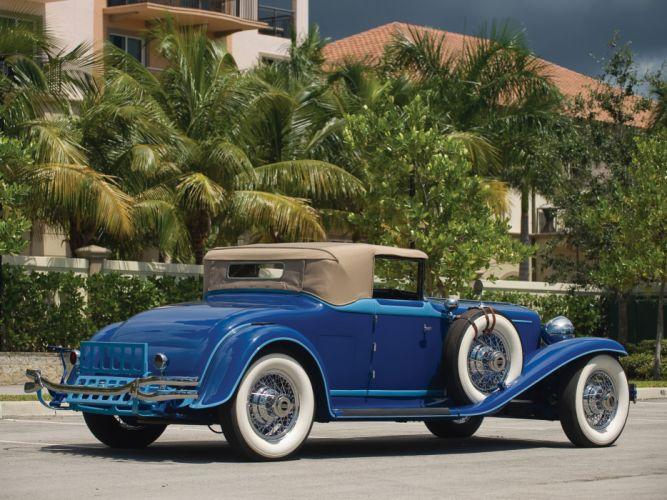 1929 Cord L-29 Convertible retro luxury ds wallpaper