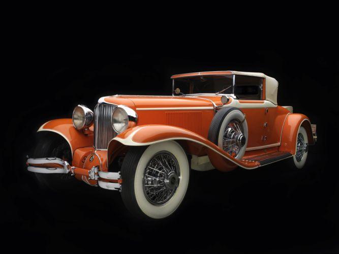 1929 Cord L-29 Convertible retro luxury wheel d wallpaper