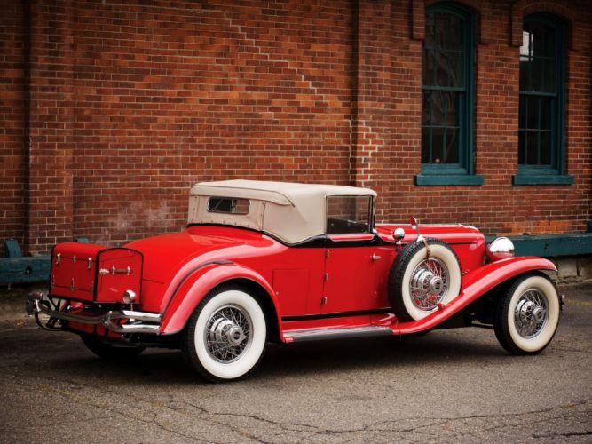 1929 Cord L-29 Convertible retro luxury wheel df wallpaper