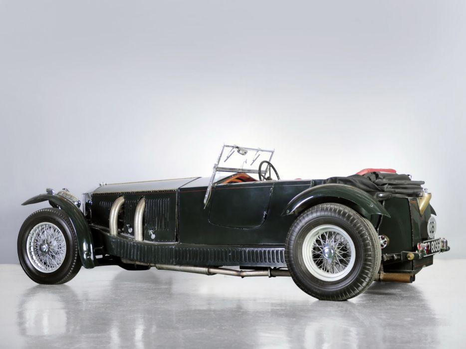 1931 Invicta S-Type Low Chassis Tourer (S46) retro supercar      f wallpaper