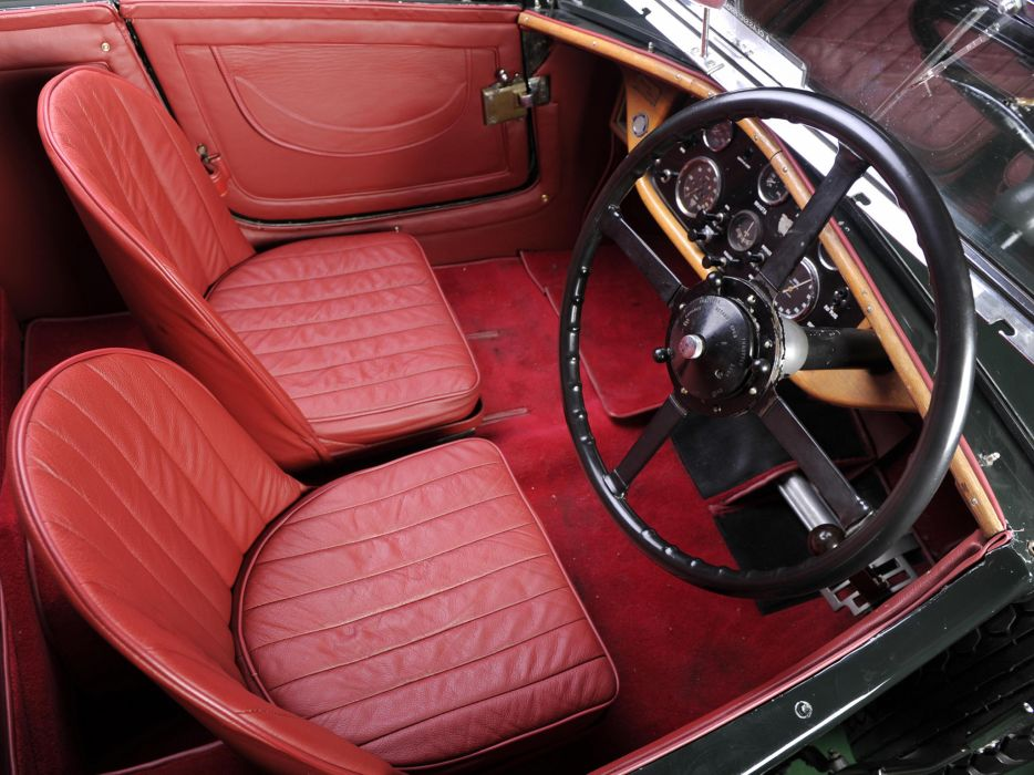 1931 Invicta S-Type Low Chassis Tourer (S46) retro supercar interior    g wallpaper