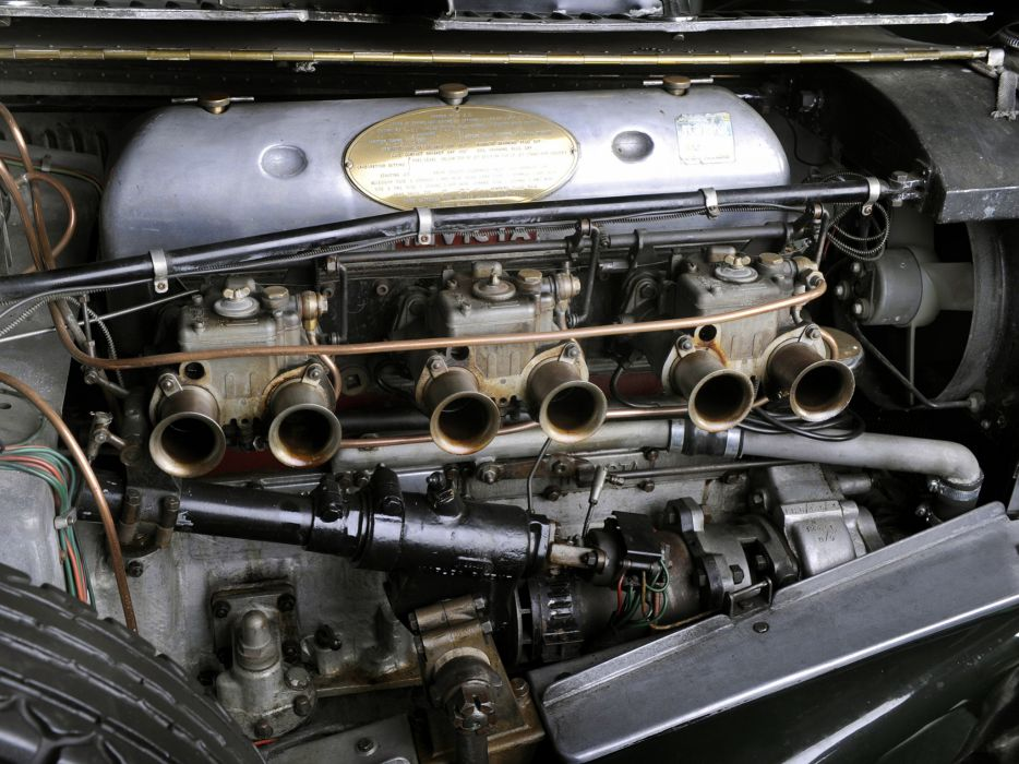 1931 Invicta S-Type Low Chassis Tourer (S46) retro supercar engine  f wallpaper