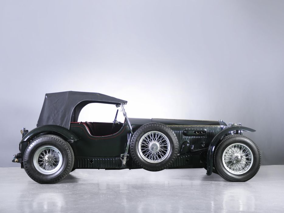 1931 Invicta S-Type Low Chassis Tourer (S46) retro supercar wheel     f wallpaper
