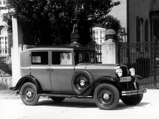 1931 Opel Saloon retro h wallpaper