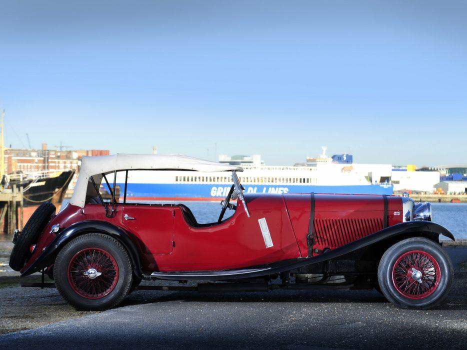 1933 Lagonda 3-Litre T7 Tourer retro t-7    r wallpaper