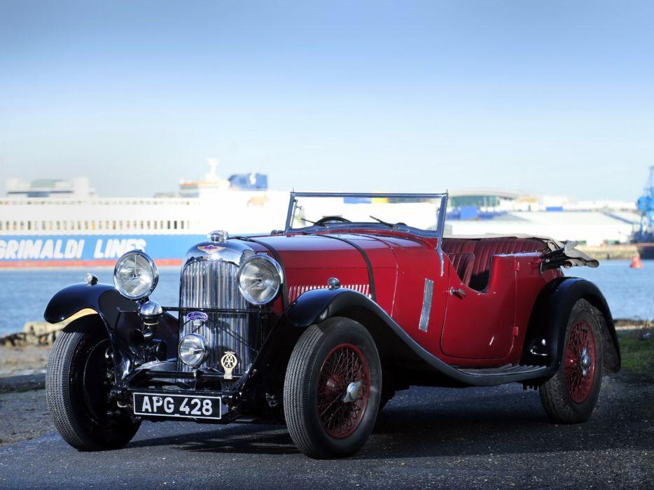 1933 Lagonda 3-Litre T7 Tourer retro t-7   rw wallpaper
