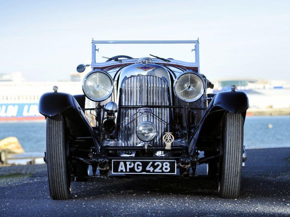 1933 Lagonda 3-Litre T7 Tourer retro t-7 wheel      g wallpaper