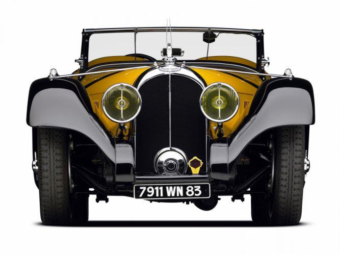 1934 Voisin C27 Figoni Cabriolet retro f wallpaper