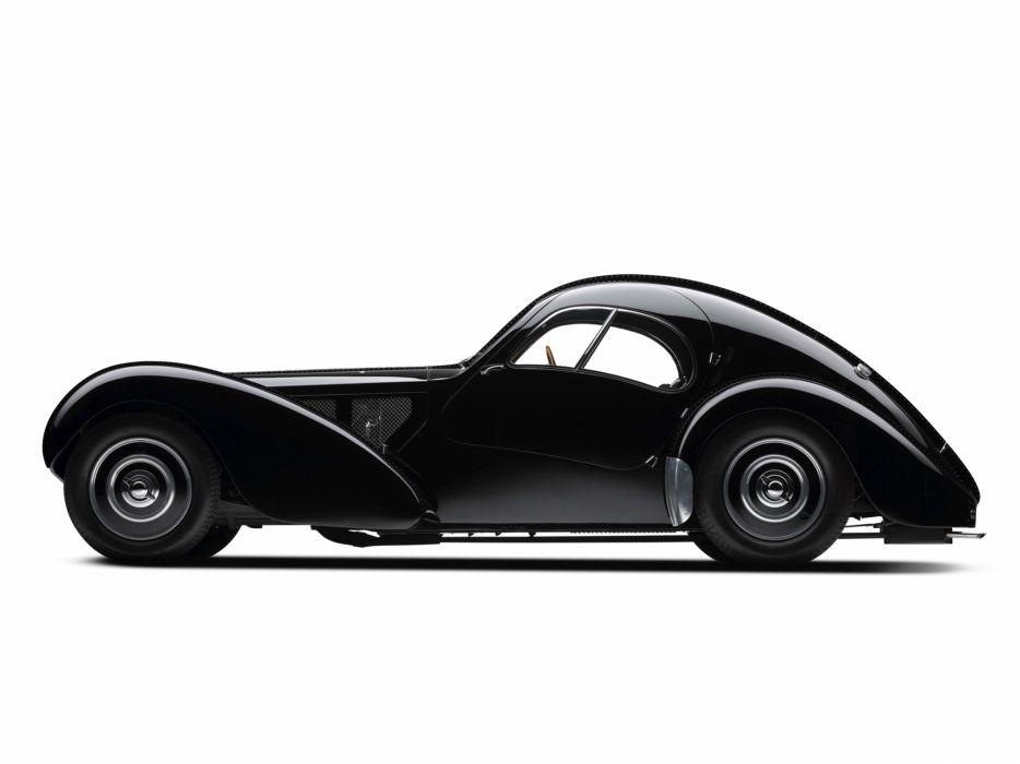 1936 Bugatti Type 57SC Atlantic Coupe supercar retro   r wallpaper