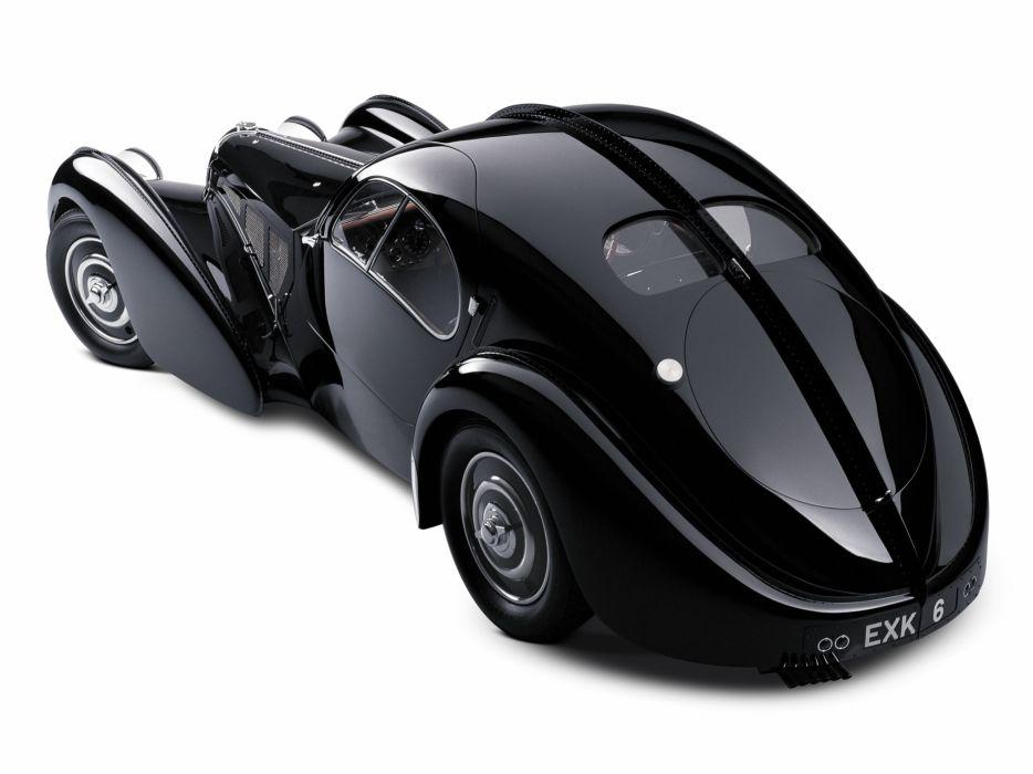 1936 Bugatti Type 57SC Atlantic Coupe supercar retro   g wallpaper