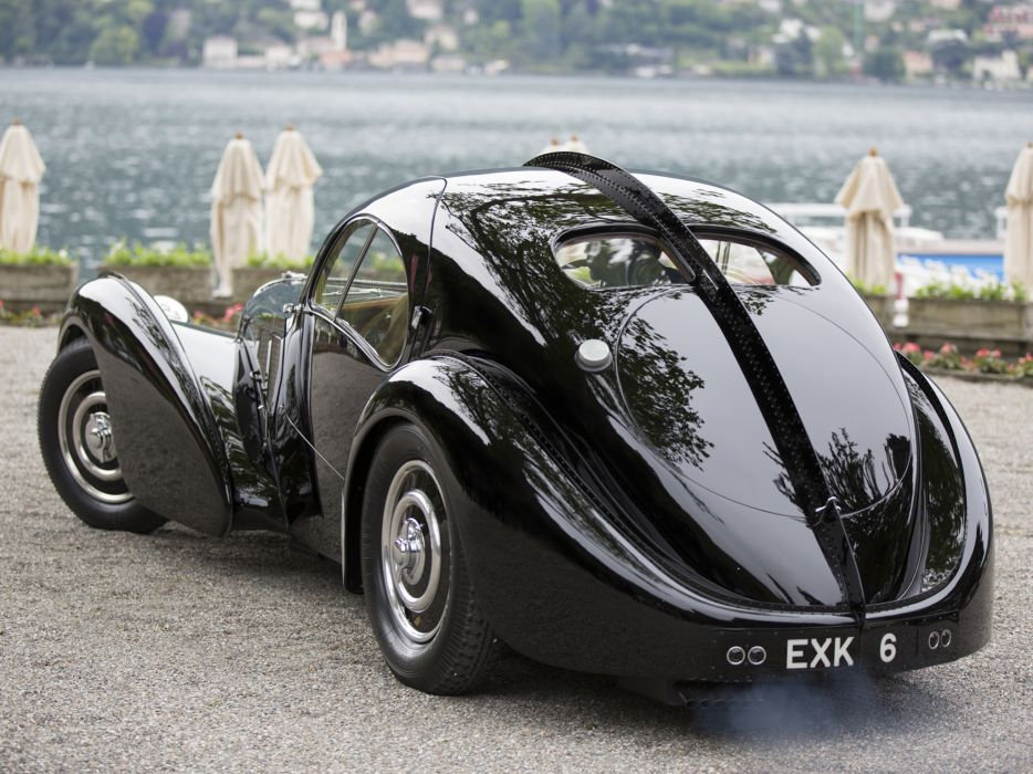 1936 Bugatti Type 57SC Atlantic Coupe supercar retro       g wallpaper