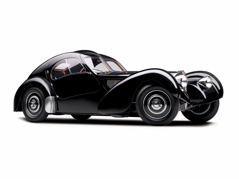 1936 Bugatti Type 57SC Atlantic Coupe supercar retro   t wallpaper