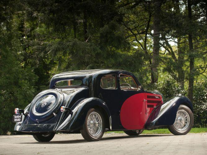 1937 Bugatti Type-57 Ventoux Coupe (Series-III) retro g wallpaper