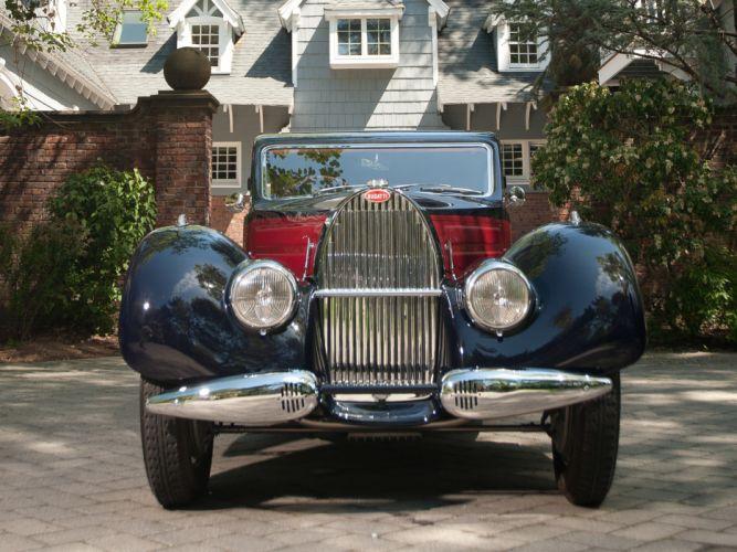 1937 Bugatti Type-57 Ventoux Coupe (Series-III) retro d wallpaper